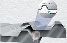 Il Giunto di accoppiamento dei pannelli curvi coibentati REXCOP