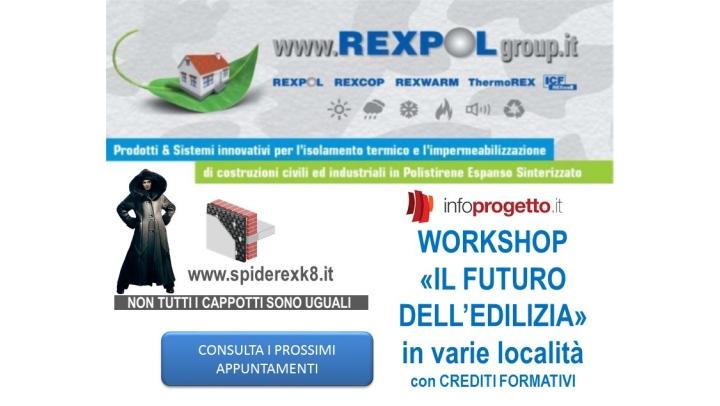 """Workshop 2018 con REXCOP – """"Il futuro dell'edilizia"""""""