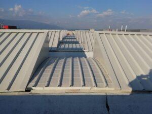 Coibentare il tetto del capannone con i pannelli sandwich REXCOP